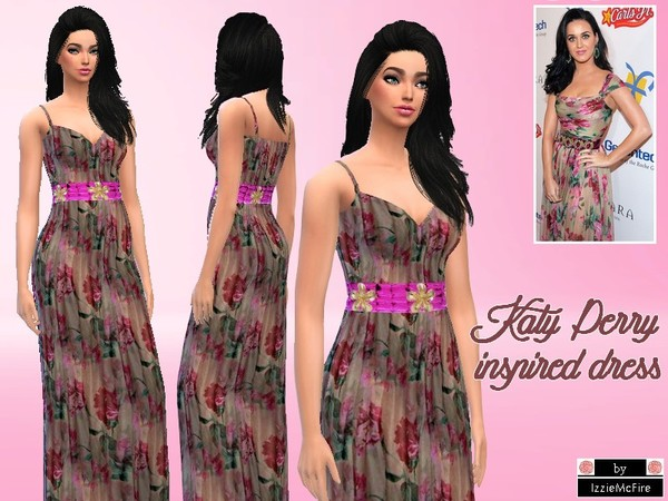 Katy Perry inspired dress by IzzieMcFire