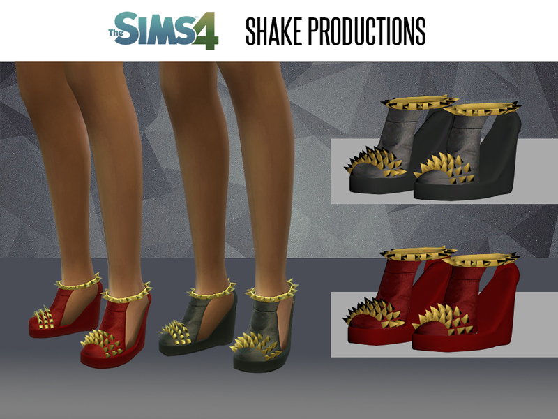 ShakeProductions 08 - Shoes *NEW MESH*