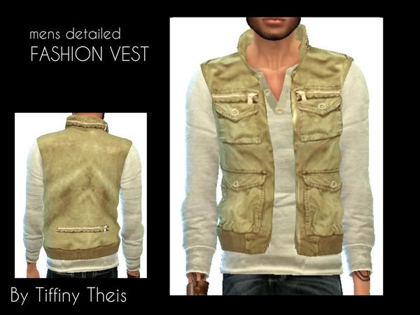 Mens Fashion Vest by tiffybee