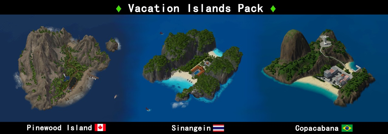 Vacation Islands Pack by Nilxis