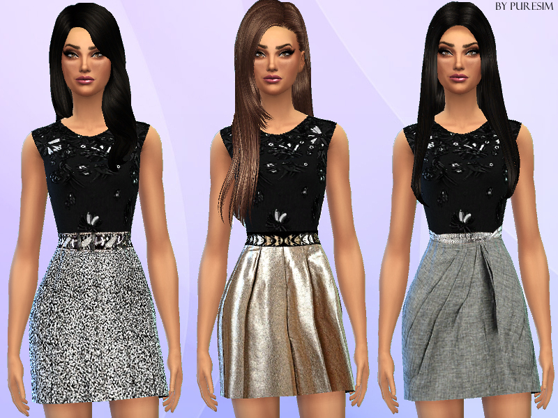 Glamorous Dresses  BY Puresim