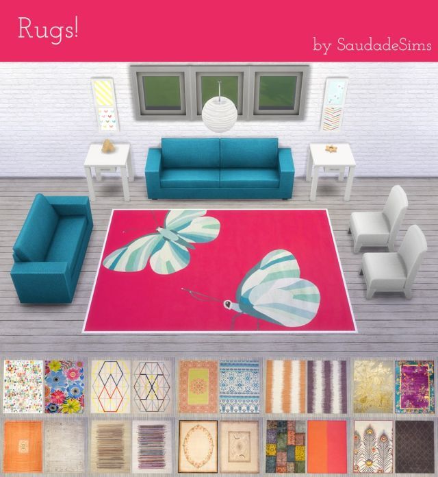 32 rugs by SaudadeSims