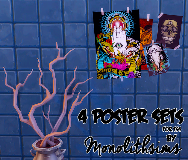 Posters by MonolithSims