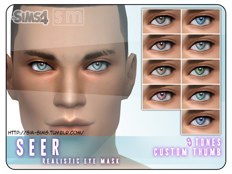 [ Seer ] - Realistic Eye Mask BY Screaming Mustard