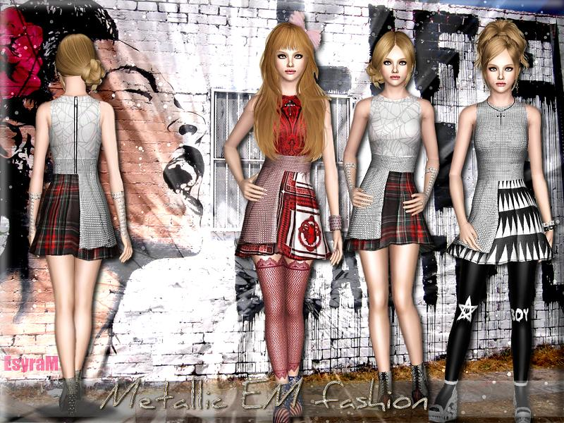 Metallic EM fashion by EsyraM
