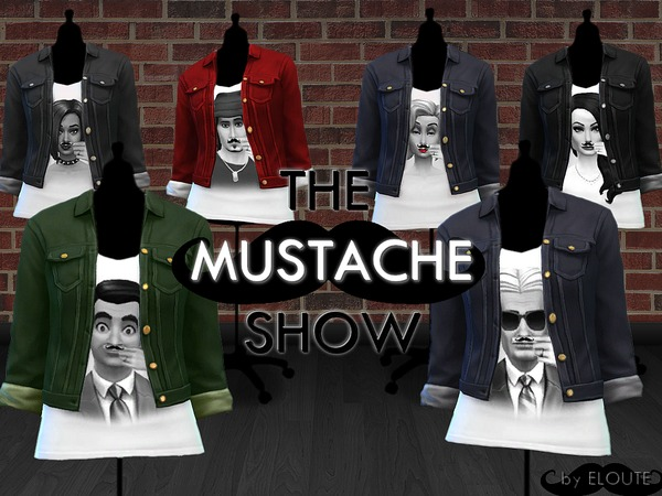 Fashion Mustache by Eloute