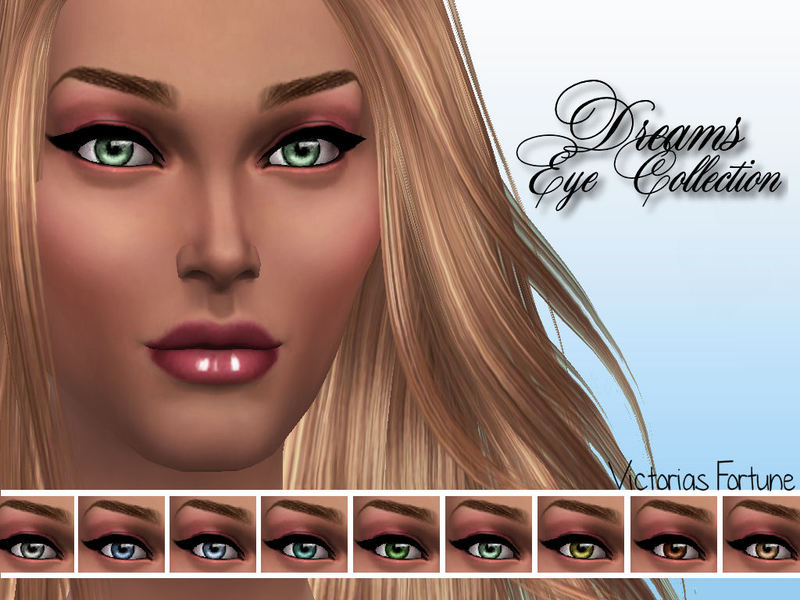Victorias Fortune Dream Eye Collection  BY fortunecookie1