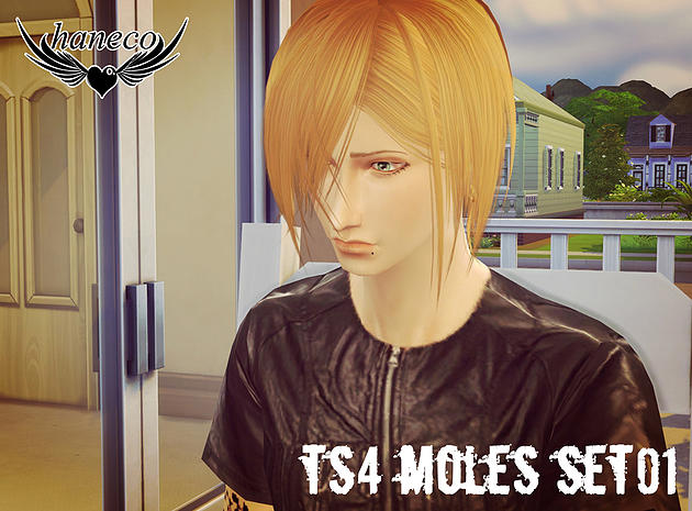 TS4 Moles set01 by haneco