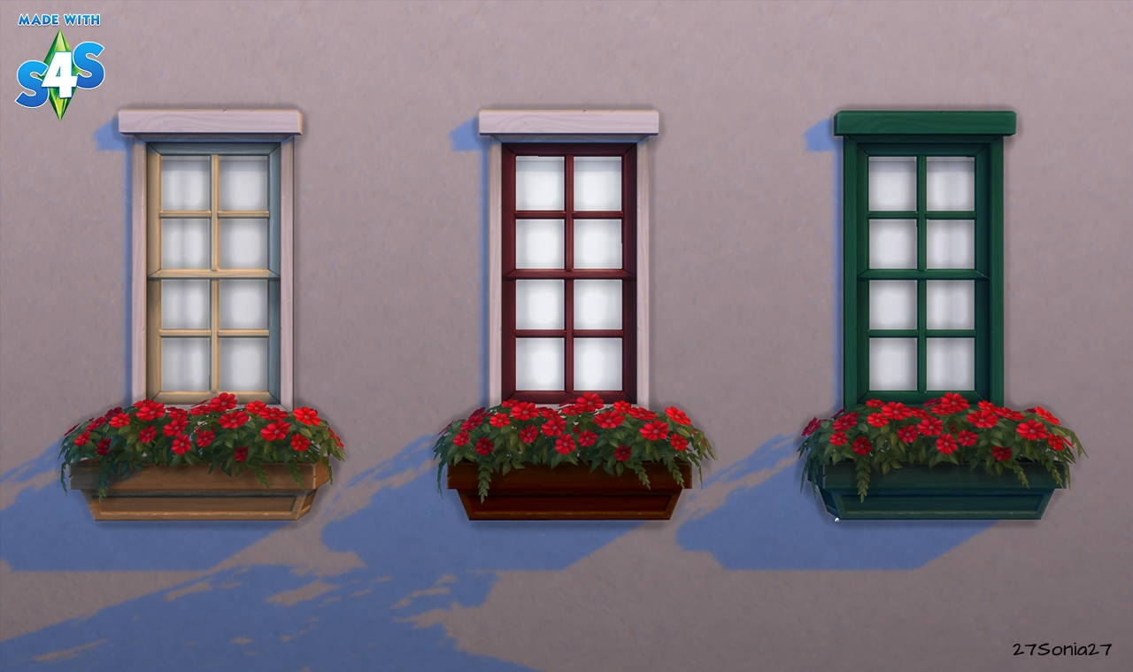 Flower Boxes by Sonia
