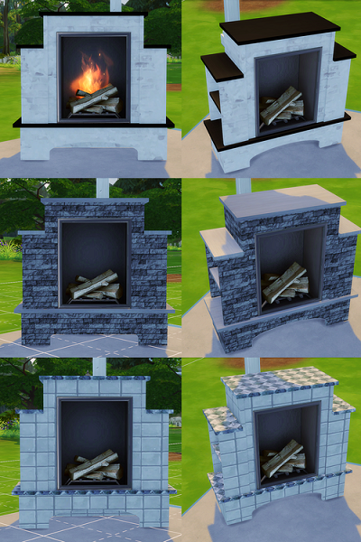 Outdoor Fireplaces by Melbrewer367