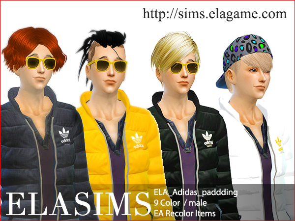 Sims 4 ELA_adidaspadding by Elasims