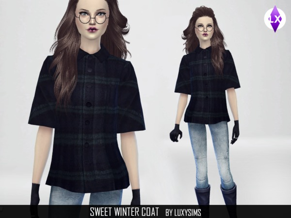 Sweet Winter Coat by LuxySims3