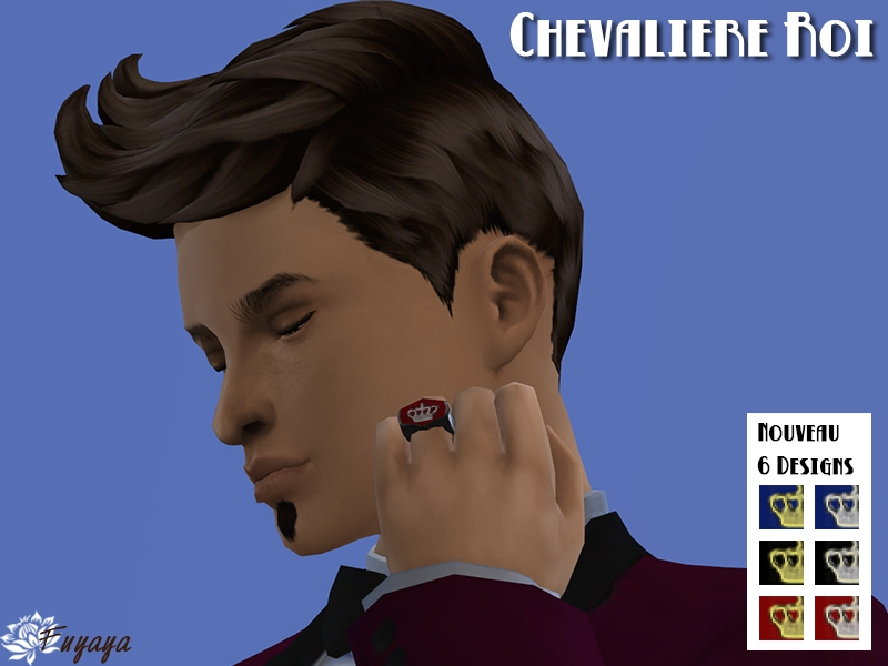 NOBLESSE rings set by Fuyaya at Sims Artists