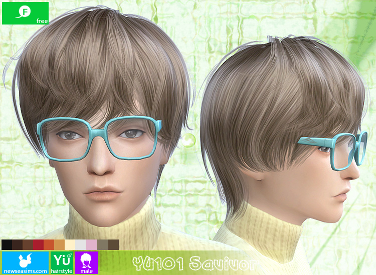 YU101 Savivor hair by Newsea
