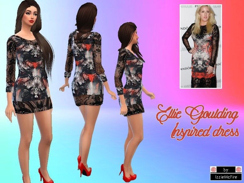 Ellie Goulding inspired dress BY  BY IzzieMcFire