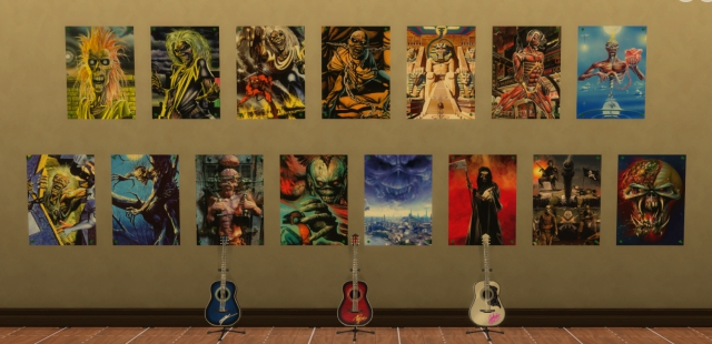 Iron Maiden 15 Posters Pack by ironleo78