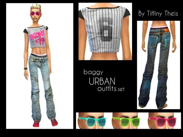 Urban Chic Outfit Set by Tiffiny Theis
