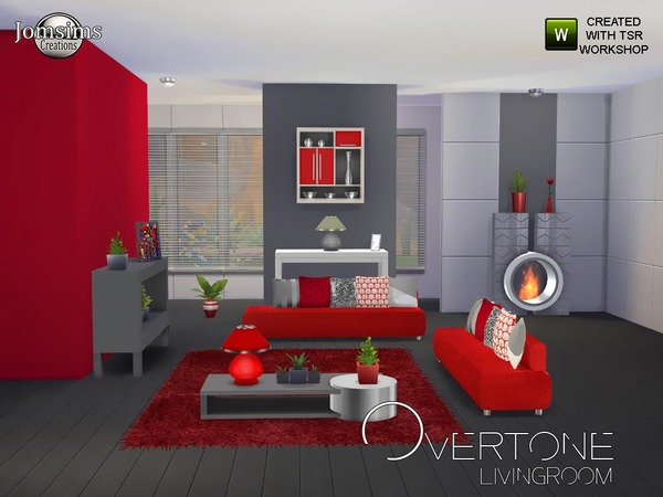 Overtone living Room by jomsims