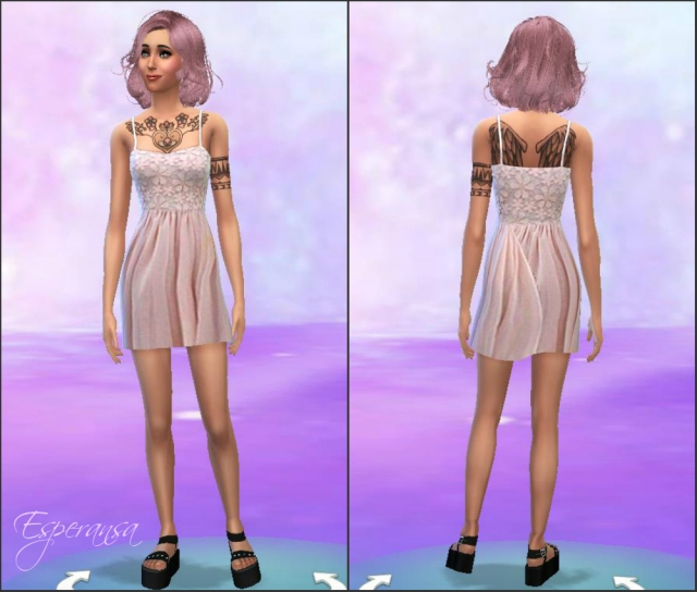 Lace Vanilla Dress by Esperansa