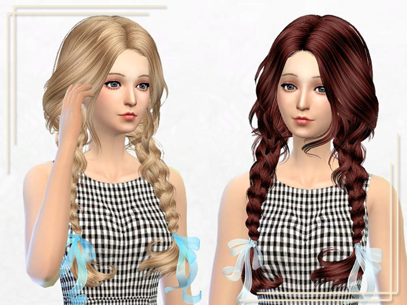 Elasims Asked Hair 23F Retexture by SakurPhan
