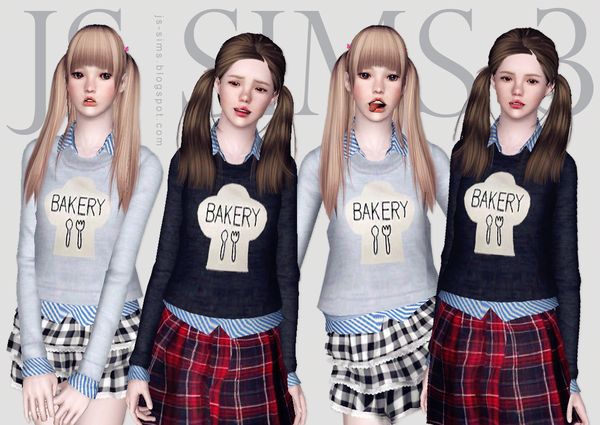 Bakery Print Sweater by JS SIMS