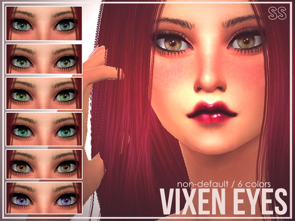 Vixen Eyes by SenpaiSimmer