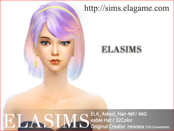 Hair 46F / G (Newsea) by ElaSims
