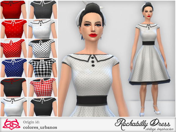 Rockabilly Dress v3 by Colores Urbanos