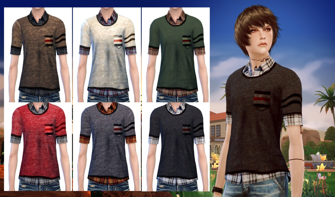 Tops for both genders by OPB