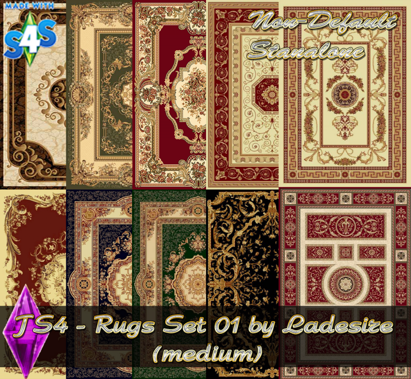 Rug Set 02 (medium) by Ladesire