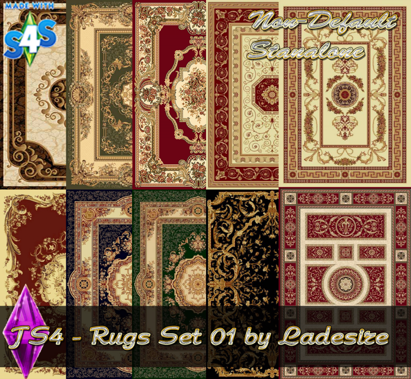 Rug Set 01 by Ladesire