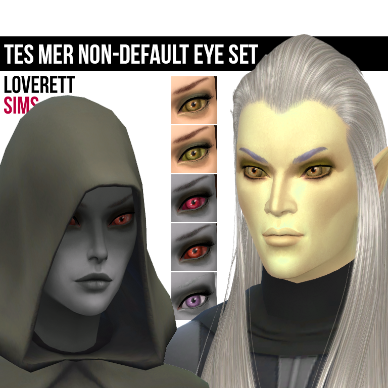TES elveneyes by LoverettSims