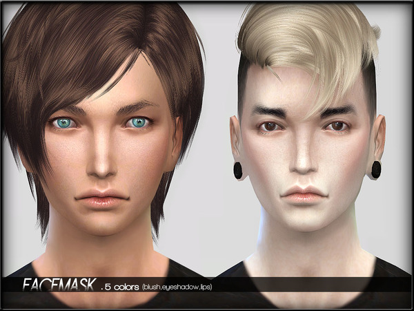 FaceMaskSet2 - AdultMale by ShojoAngel