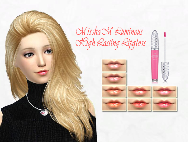 Luminous High Lasting Lipgloss by SakuraPhan