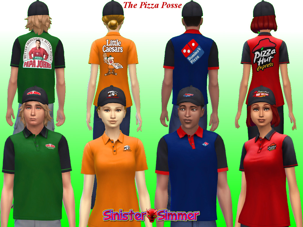 The Pizza Posse by Sim4Matrix