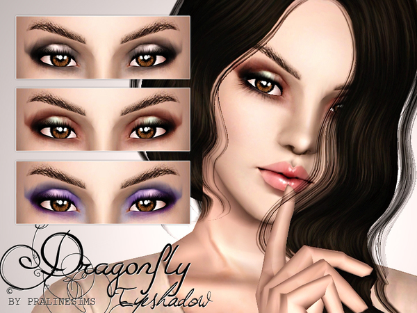 Dragonfly Eyeshadow by Pralinesims