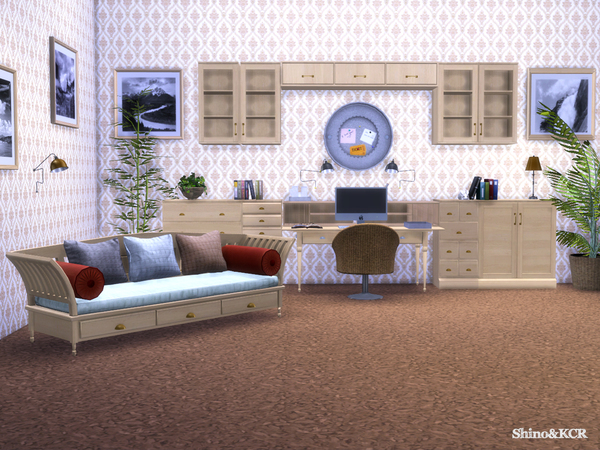 Potterybarn Homeoffice by ShinoKCR