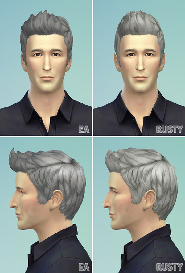 Dreamy Flip Hair Edit for Males by Rusty Nail