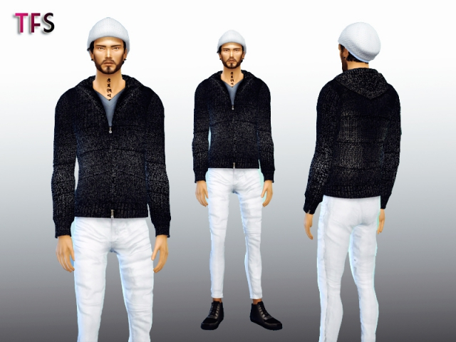 Ashes Sweater by TwistedFate Sims