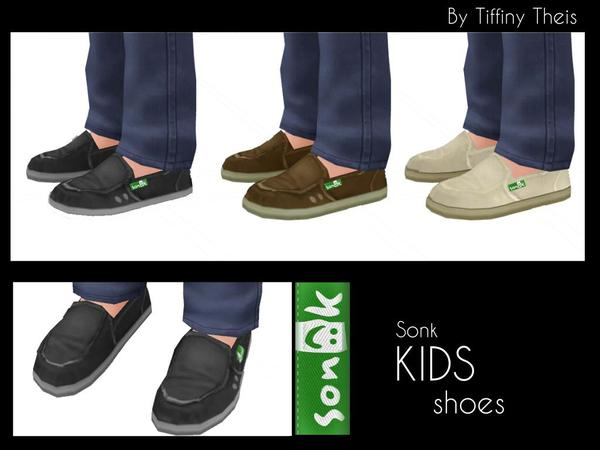 Kids Sonk Shoes by tiffybee
