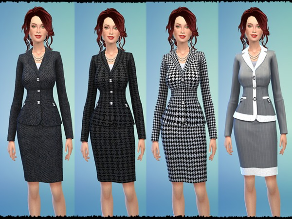 Designer Skirt Suits by Tacha75
