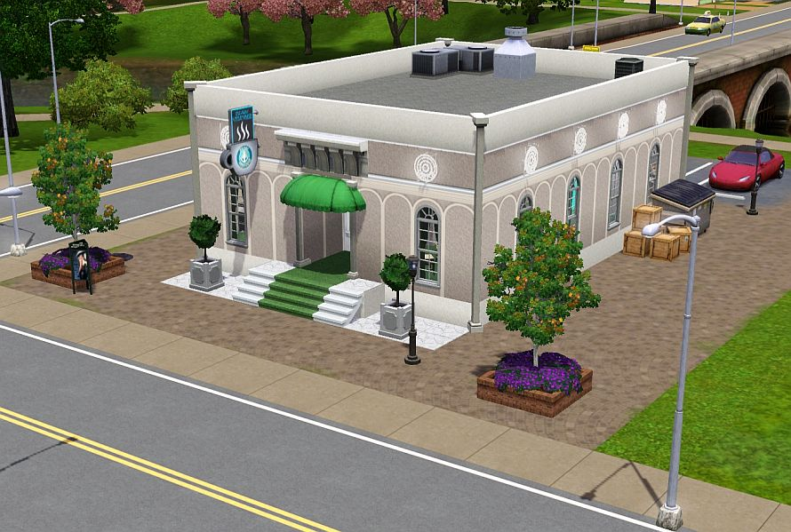 From SC4 to TS3 Chez Eyler lot by Floraflora2