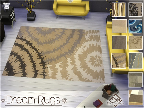 Dream Rugs Set by Devirose