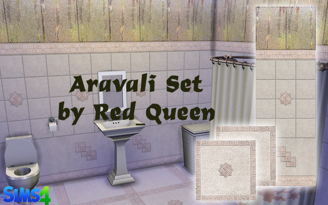 Wallpaper and Floors от Red Queen