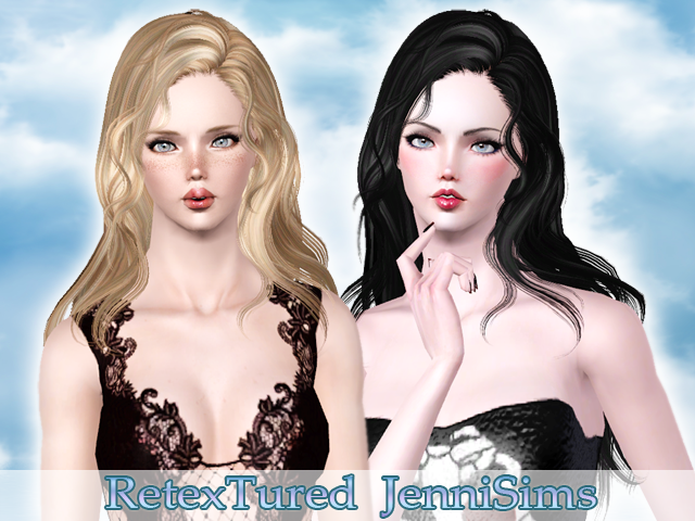 Newsea Hair Hello retextured at JenniSims