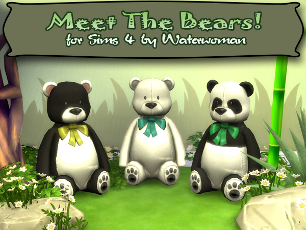 Meet the Bears by Waterwoman