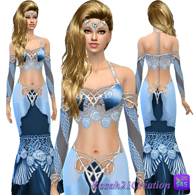 Elfique dress by Rosah21