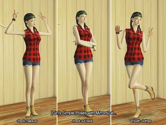 Simple Poses by LiloSims