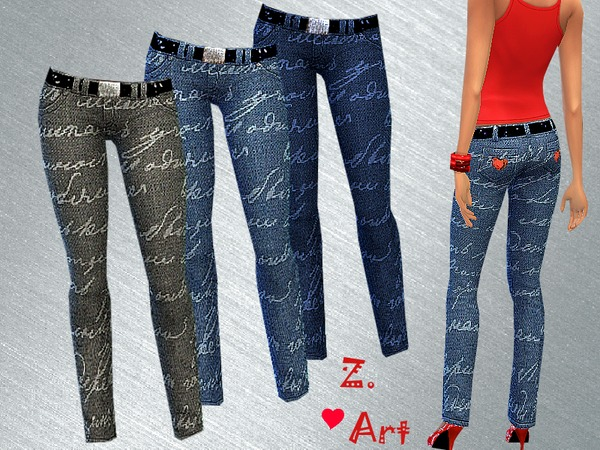 Jeans Loveletter by Zuckerschnute20