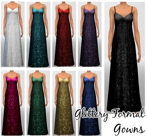 Glittery Formal Gowns at Kaetaters